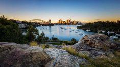 View of Sydney sunrise from Waverton, New South Wales, Australia, df721ea55e71d85c3cf3421c52971e73