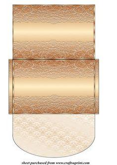 Bronze Money/voucher Wallet - CUP411142_539   Craftsuprint
