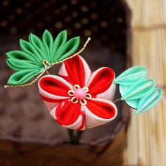 Kanzashi Shou-Chiku-Bai (Pine Bamboo Plum Blossom) New Year Celebration