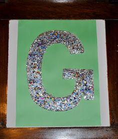 do something: How to teach the Alphabet – the Letter G for Glitter How to…. do something: How to teach the Alphabet – the Letter G for Glitter Preschool Letter Crafts, Alphabet Letter Crafts, Abc Crafts, Alphabet Book, Classroom Crafts, Preschool Crafts, Letter Art, Spanish Alphabet, Letter Tracing