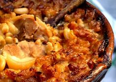 Le Cassoulet, French Food, Paella, Holiday Recipes, Mashed Potatoes, Macaroni And Cheese, Crockpot, Bacon, Brunch