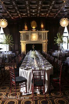 Wedding details at Julia Morgan Ballroom by San Francisco Wedding Photographer Misti Layne
