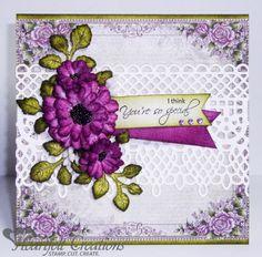 Heartfelt Creations   Majestic Purple Blooms