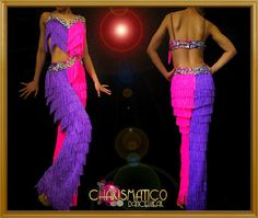 CHARISMATICO-Dance-with-the-Stars-purple-and-pink-Latin-fringe-pants