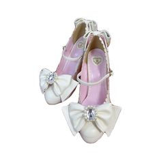 Cinderella's Glass Slippers: Baby, the Stars Shine Bright ❤ liked on Polyvore featuring shoes, heels and lolita