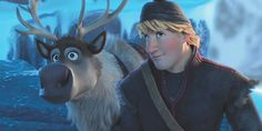 See Kristoff and Anna in a Deleted Scene from Frozen. I'm glad this wasn't in The movie. While I love the way they run into each other, it's shows a Han-ish side to Kristoff. On a cool note though, we learn Kristoff's last name! Disney Dream, Disney Love, Disney Magic, Disney Frozen, Frozen 2013, Disney Stuff, Disney And Dreamworks, Disney Pixar, Walt Disney