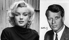 """Marilyn Monroe """"fue asesinada por un Kennedy"""", según nuevas investigaciones  Según una investigación periodística de Richard Buskin y Jay Margolis, aseguran que el senador y hermano de John Fitzgerald Kennedy (JFK), Robert 'Bobby' Kennedy, fue el que mandó matar a Marilyn Monroe después de terminar su romance con ella."""