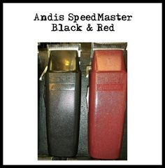 Andis Speedmaster (Black & Red) Andis Clippers, Red, Black, Black People