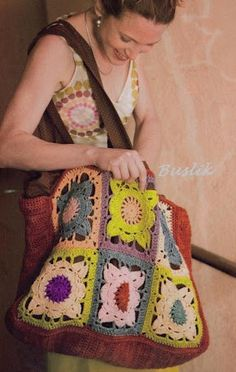 Sacs - Sacs Granny et… - Sacs au crochet et… - Le blog de Anne