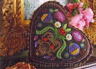 Barrani Valentine Heart Crewel Embroidery Kit Chocolate Sampler, $69.99
