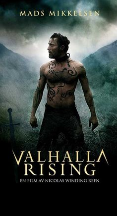 Valhalla Rising is a 2009 film (released in the States in directed by Nicolas Winding Refn, starring Mads Mikkelsen. The film was shot entirely in … See Movie, Film Movie, Movie Poster Art, Film Posters, Movies Showing, Movies And Tv Shows, Valhalla Rising, Sir Anthony, Christian Movies