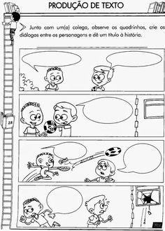 No 3° ano do ensino fundamental já da pra começar a ensinar o aluno sobre produção de texto, colocando imagens com muitas figurinhas que int...
