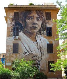 by Guido Van Helten in Rome, 7/15 (LP)
