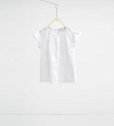 Irregular stripes T-shirt-View All-T-SHIRTS-GIRL   4-14 years-KIDS   ZARA United Kingdom