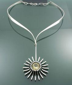 Necklace | Frank Patania Jr. Sterling silver, citrine
