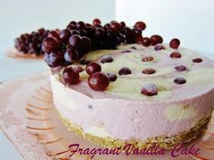 Raw Champagne Grape and Almond Dream Cake  from Fragrant Vanilla Cake