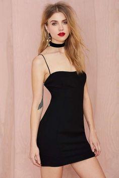Nasty Gal My Generation Crepe Dress - Body-Con