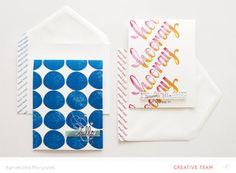 Card + Envelope | Agnieszka Malyszek at @studio_calico