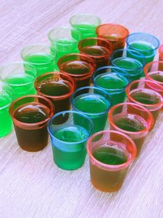 Learn the secret to a perfect Jell-O shot. And then learn how to take those shots to the next level with over 65 different combinations. Happy drinking!