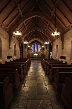 Inside Duncan Memorial Chapel