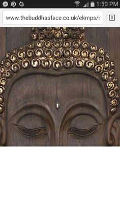 Buddha gold and wooden