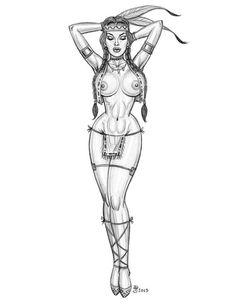 skinny woman art - Google keresés