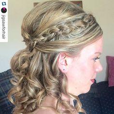 """#bridesmaidhair style by @tawshadawn ! ✨#yegstylist #stylesandthecity #bridesmaidshair #weddinghair  #weddingstyle #braid #braids"" Photo taken by @stylesandthecitybytawsha on Instagram, pinned via the InstaPin iOS App! http://www.instapinapp.com (07/25/2015)"