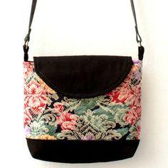 Bolsa Retrô Mini Floral