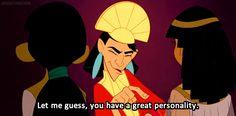 Quién habría dicho que Disney tenía un gran repertorio de sarcasmo...