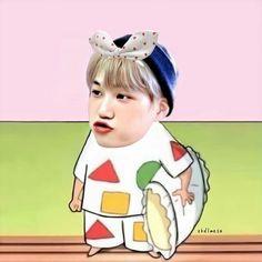 Exo Kai, Chanyeol, Exo Fanart, Adventure Time Wallpaper, Perspective Sketch, Exo Memes, Kaisoo, Kim Jong In, Kpop