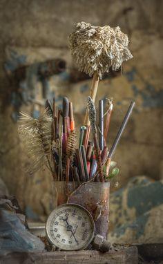 https://flic.kr/p/bwJiJn | utensils  ::  (explore) | In the Kitchen of abandoned manor house P
