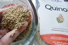 How to cook quinoa Quinoa Recipes Easy, Healthy Recipes, Gluten Free Cooking, Healthy Cooking, My Favorite Food, Favorite Recipes, Comida Latina, Healthy Family Meals, Dinner Salads