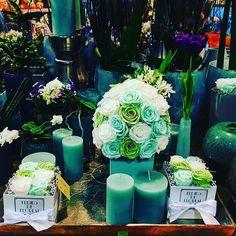 Green Farben München flowerbox blumen munich dekoration preservedflower