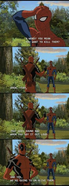 What If Deadpool And Spider-Man Had To Team Up? This Is Amazing - Likes