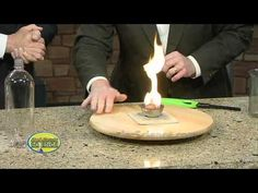 Tabletop Tornado - Cool Science Experiment - YouTube