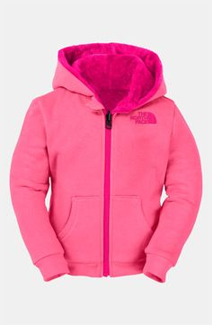 The North Face 'Elloise' Reversible Hoodie (Toddler) | Nordstrom