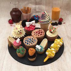 Cake Decorating Techniques, Cake Decorating Tips, 24 Kitchen Filipa Gomes, Mini Cakes, Cupcake Cakes, Delicious Desserts, Yummy Food, Dessert Cake Recipes, Cute Cupcakes