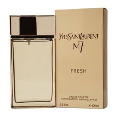 M7 Fresh Cologne by Yves Saint Laurent For Men 3.3 Oz