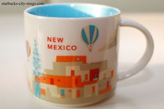 New Mexico | YOU ARE HERE SERIES | Starbucks City Mugs