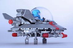 UFO - Project Red Light  #flickr #LEGO #space #MOC