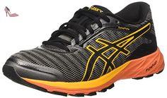 Asics Dynaflyte, Chaussures de Running Entrainement Homme, Gris (Carbon/Black/Jaune Citrus), 39 EU - Chaussures asics (*Partner-Link)