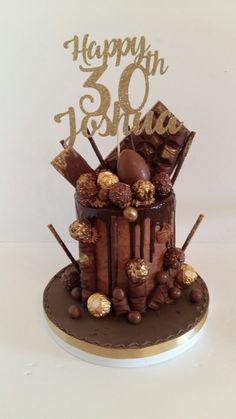 Drip cake...chocolate bomb Chocolate Bomb, Cake Chocolate, Drip Cakes, Desserts, Food, Chicolate Cake, Tailgate Desserts, Chocolate Cobbler, Deserts