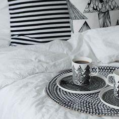 Living Styles, Marimekko, Nordic Style, Sweet Home, Christmas Decorations, Tapestry, House Design, Interior Design, Bedroom