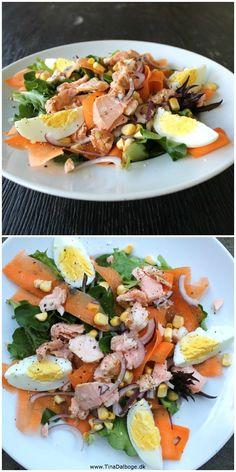 Så er det lige at mit navn bliver råbt op omkring frokosttid… TIIIINNNAAA…. Ja – hvad er der, siger jeg med snuden helt fordybet i skærmen. Der er frokost – lyder det tilbag… Healthy Summer, Healthy Life, Healthy Living, Healthy Breakfast Recipes, Healthy Recipes, Danish Food, Recipes From Heaven, Skinny Recipes, Salad Recipes