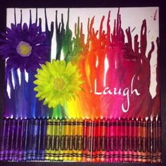 Melted crayon art by megan