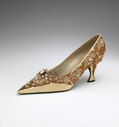 House of Dior   Shoes   French   The Met, 1958