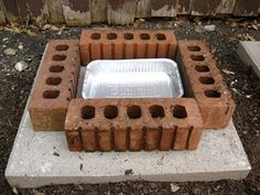 Compost Tray Set-Up