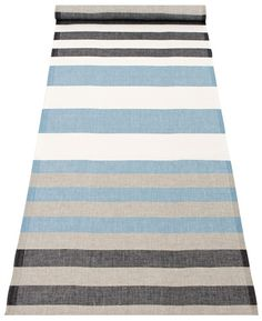 """A fun and happy table runner in a beautiful striped pattern. Measurements: 48x150 cm (approx 18.9"""" x 59"""") Material: 100% linen Country: Designed and made in Finland"""