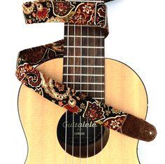Ukulele Straps, Gypsy, Paisley, Music Instruments, Guitar, Google, Image, Musical Instruments, Guitars