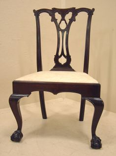 Wallace Nutting Furniture | Wallace Nutting Chippendale Side Chair In Solid  Mahogany This Wallace .